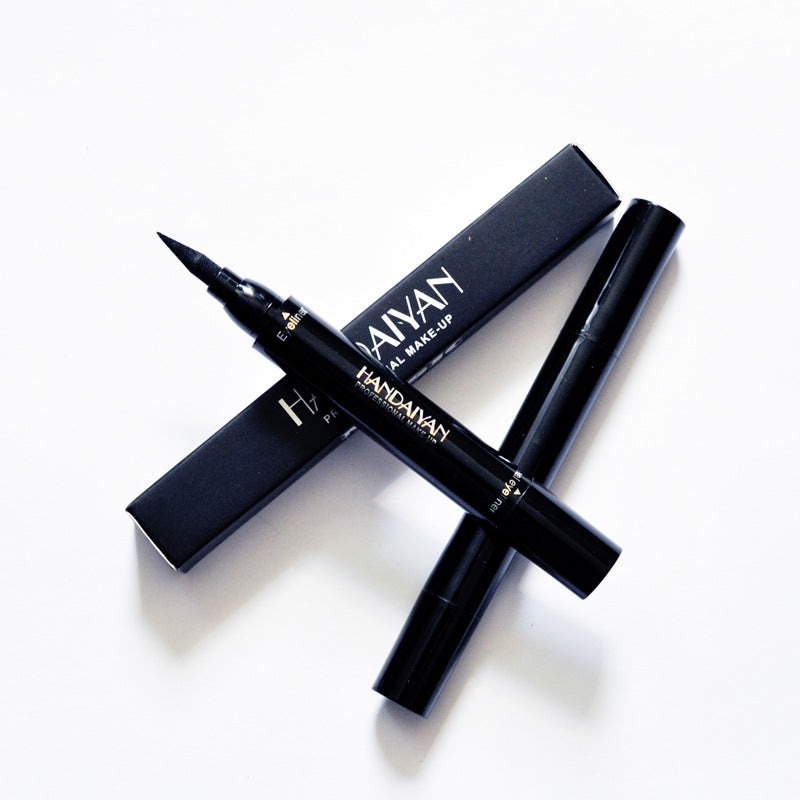2-Tip Stamp Waterproof Eyeliner