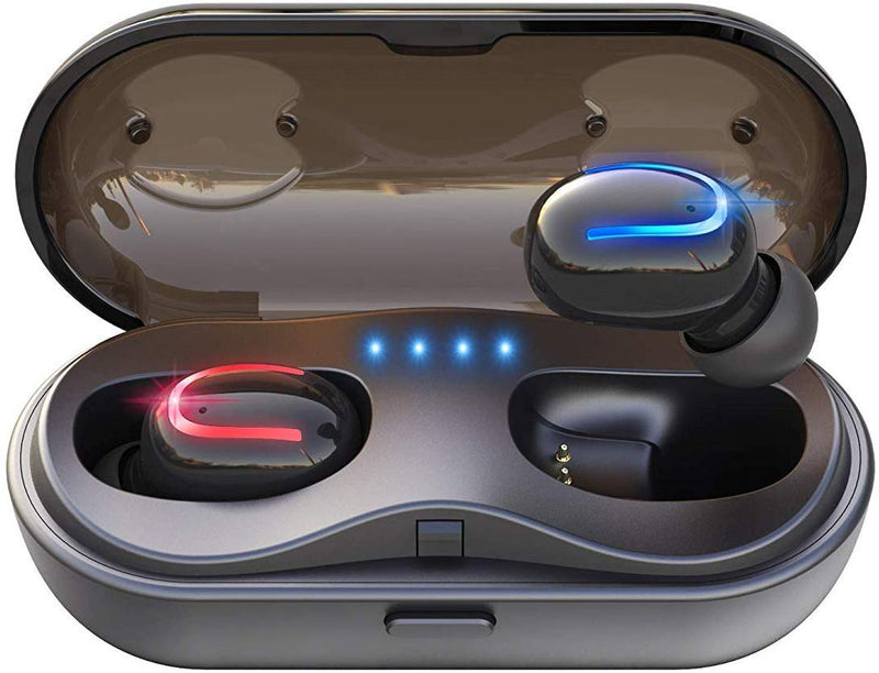 Wireless Earbuds 5.0 Bluetooth Headphones with Charging Case