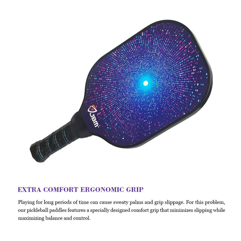 Graphite Surface & Honeycomb Core Pickleball Paddle Lightweight Racket