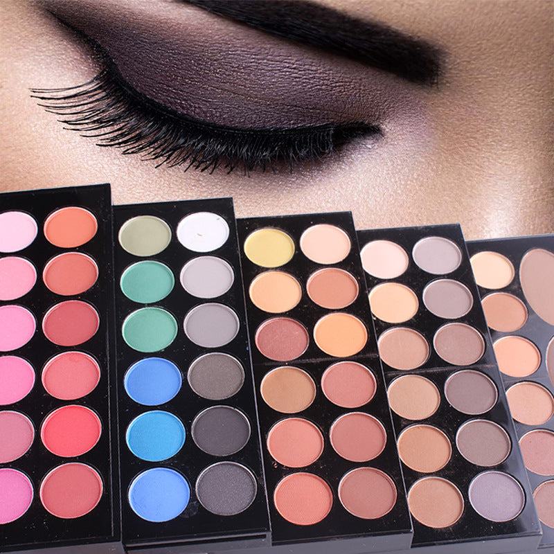 142 Colors Makeup Artist Eyeshadow Palette Cosmetics Box Set