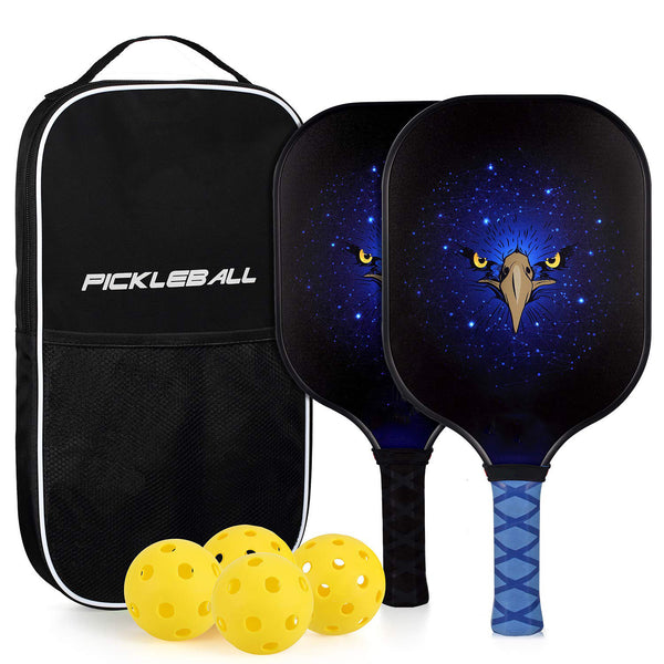 Graphite Honeycomb Composite Core Lightweight Pickleball Paddles-2 PCs