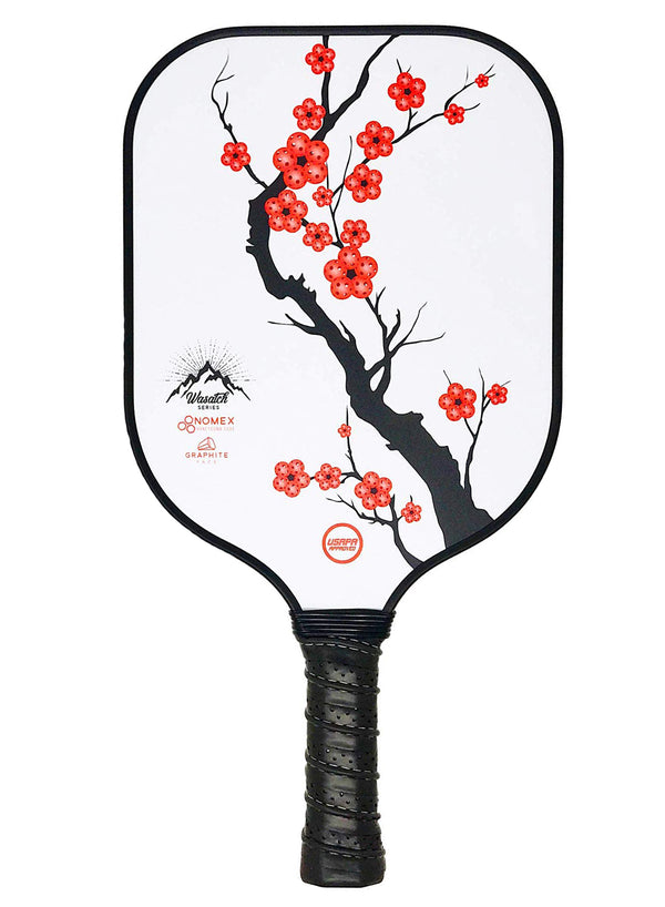 Nomex Honeycomb Core Plum Graphite Pickleball Paddle