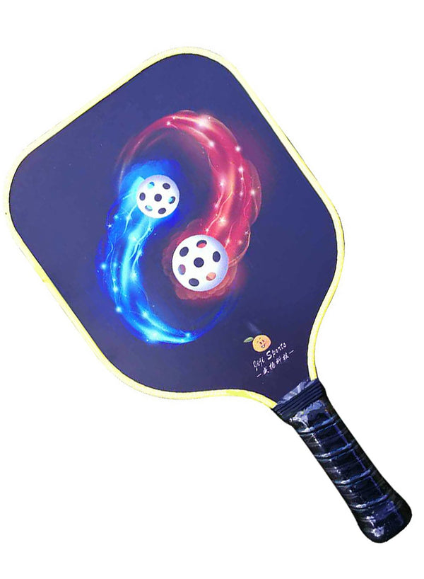 Carbon Fiber Pickleball Paddle Pattern 4