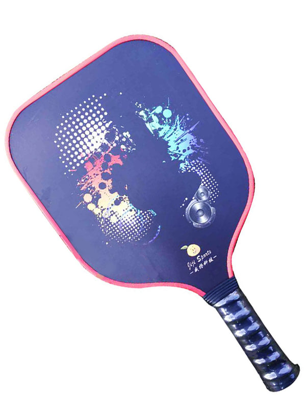 Carbon Fiber Pickleball Paddle Pattern 2