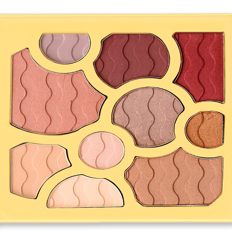 10 Colors Christmas Matte Eyeshadow Palette