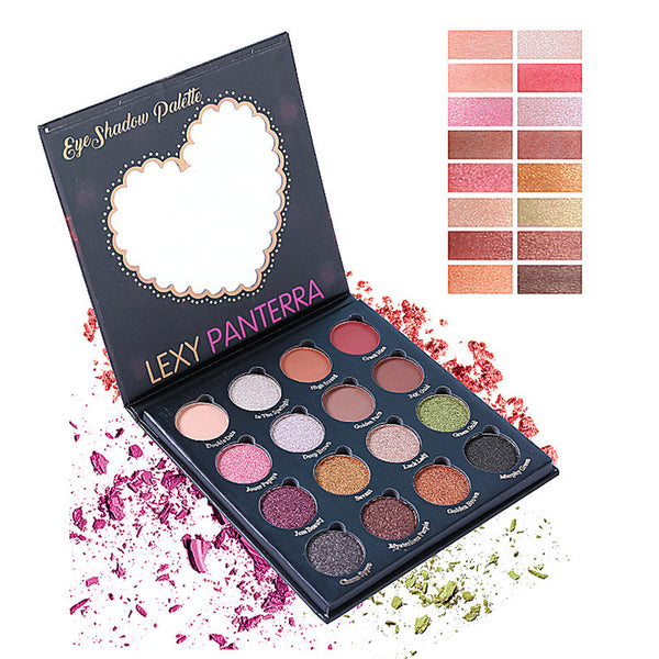 16 Colors Retro Eyeshadow Palette