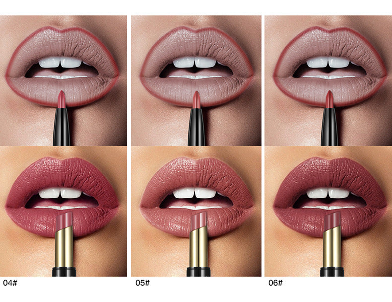 Double-ended Lip Liner Matte Lipstick
