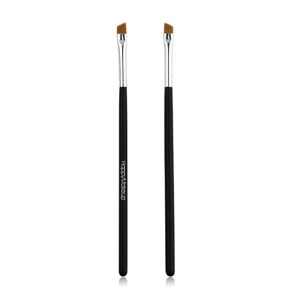 1 Piece Wood Handle Bevel Eyebrow Brush
