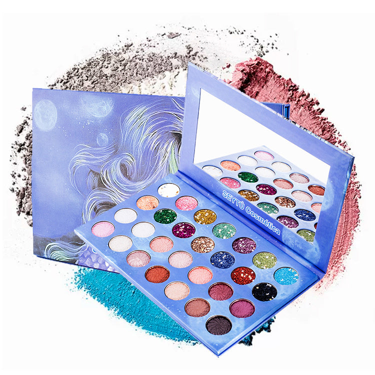 28 Colors Sequins Eyeshadow Palette