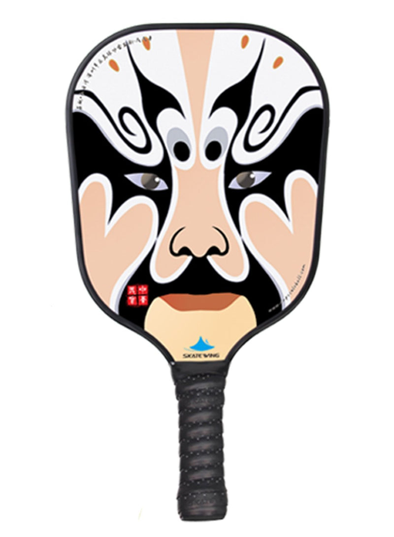 Peking Opera Facial Makeup Pickleball Paddle