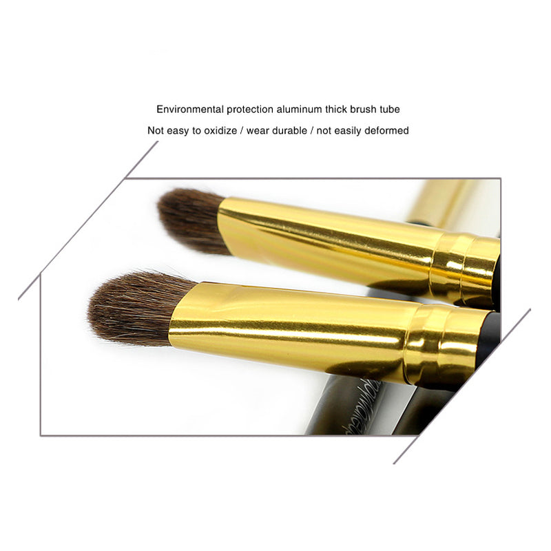 7 Piece Pony Hair Eye Makeup Brush Set