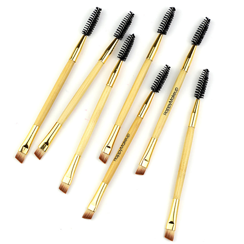 1 Piece Double-end Makeup Bevel Eyebrow Brush
