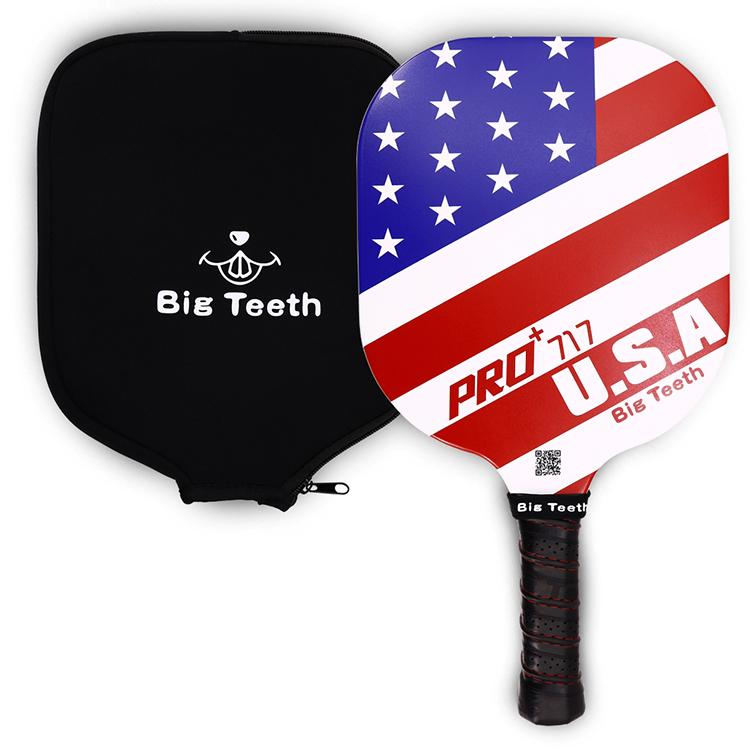 Carbon Fiber Graphite Composite Honeycomb The American Flag Pro Pickleball Paddle