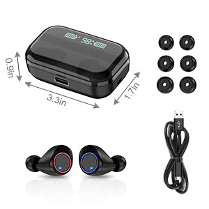 Wireless Earbuds Bluetooth 5.0 Earbuds LED Battery Display