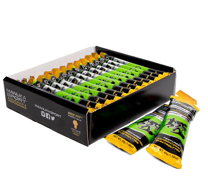 MANUKA SPORT Energy Gel Honey Citrus 12x45g