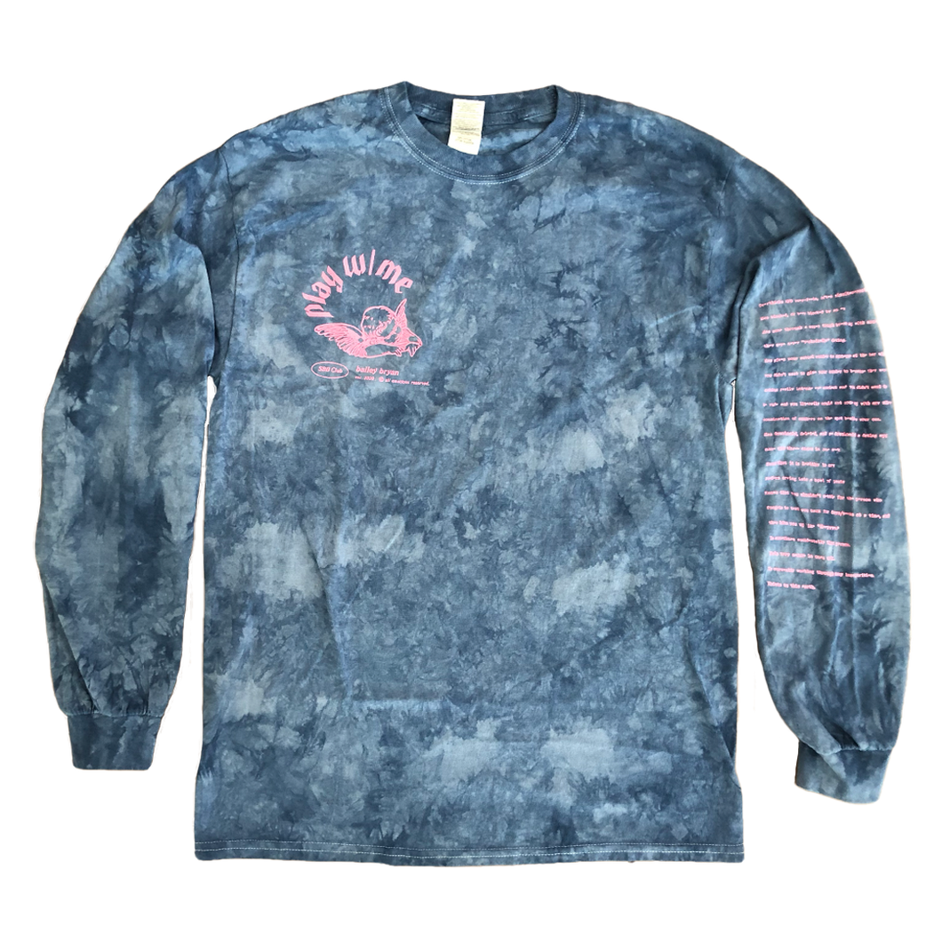 Play w/ Me Tie-Dye Long Sleeve
