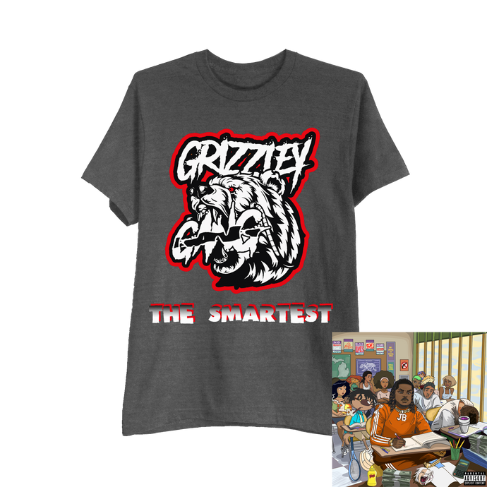 GRIZZLEY GANG TEE + DIGITAL ALBUM