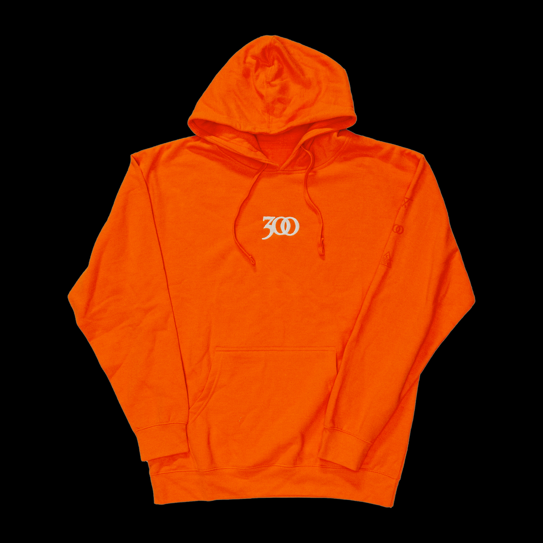 ORANGE 300 GLOW-IN-THE-DARK HOODIE