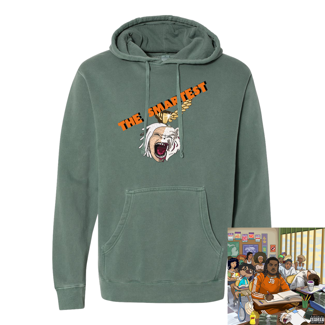 The Smartest Album Hoodie + Digital Album