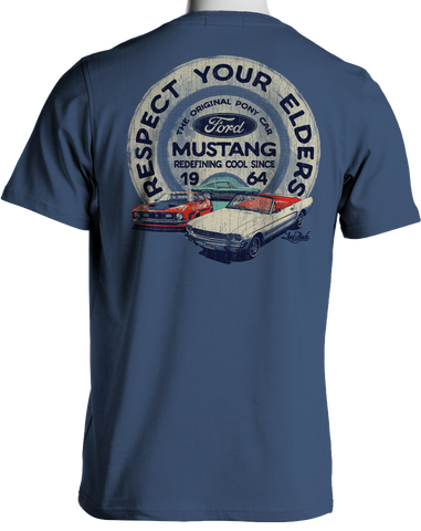 Etch Respect Mustang-Chill T-shirt