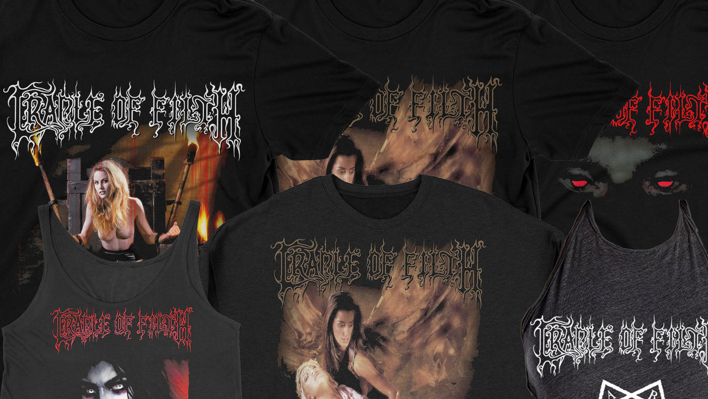 Cradle Of Filth New Items