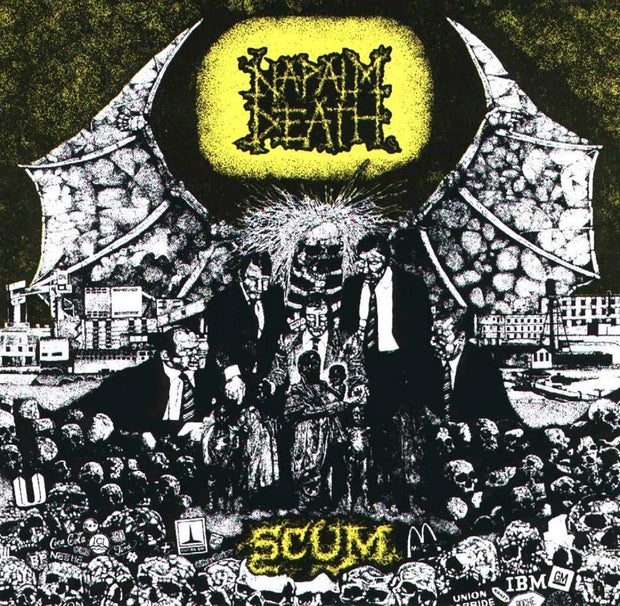 Napalm Death - Scum CD