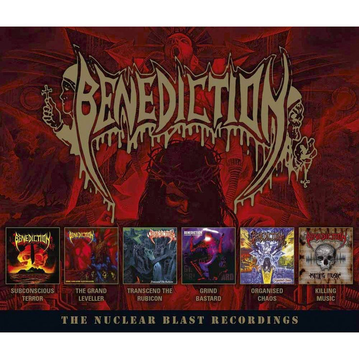 Benediction - The Nuclear Blast Recordings 6xCD