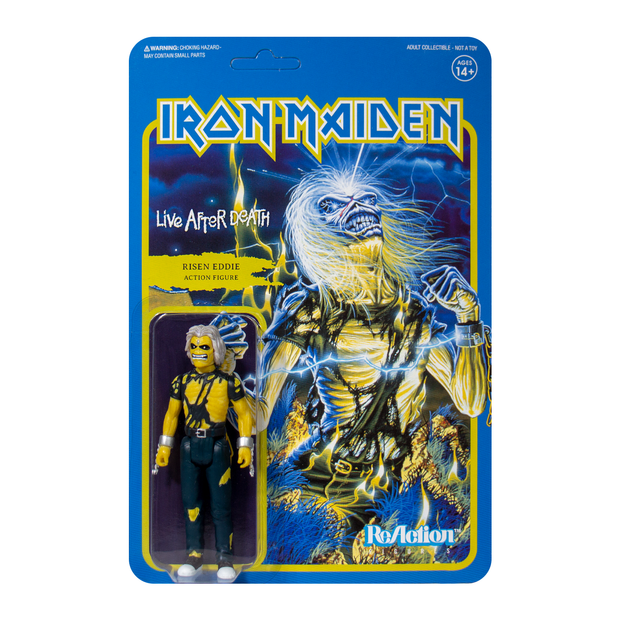Iron Maiden - Live After Death Eddie ReAction figure