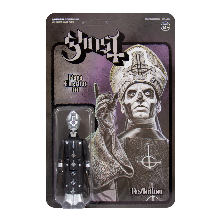 Ghost - Papa Emeritus III (Black Series) ReAction figure