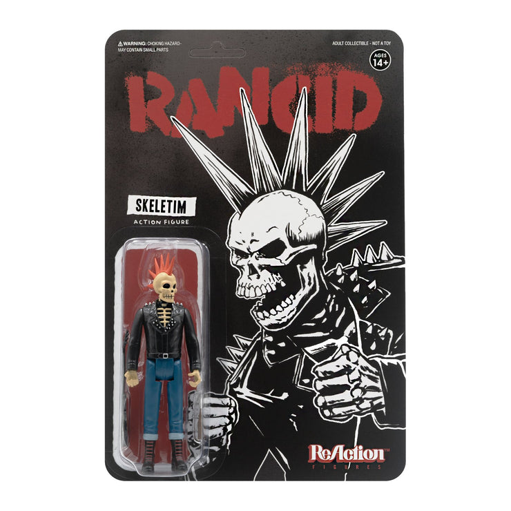 Rancid - Skeletim ReAction figure