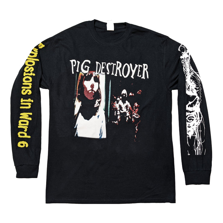 Pig Destroyer - Explosions In Ward 6 long sleeve
