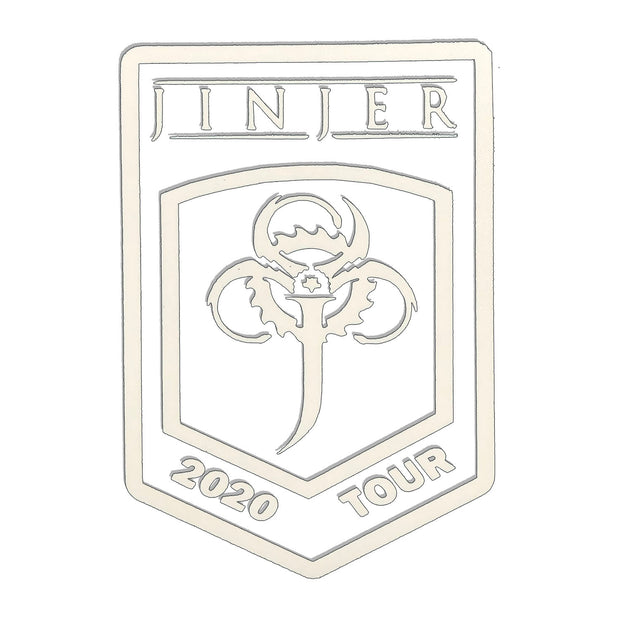Jinjer - Decal 2020 Tour sticker