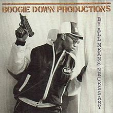 Boogie down Productions - By All Mean Necessary 12""