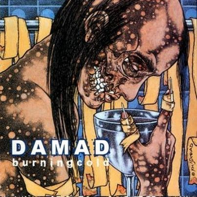 Damad - Burning Cold CD