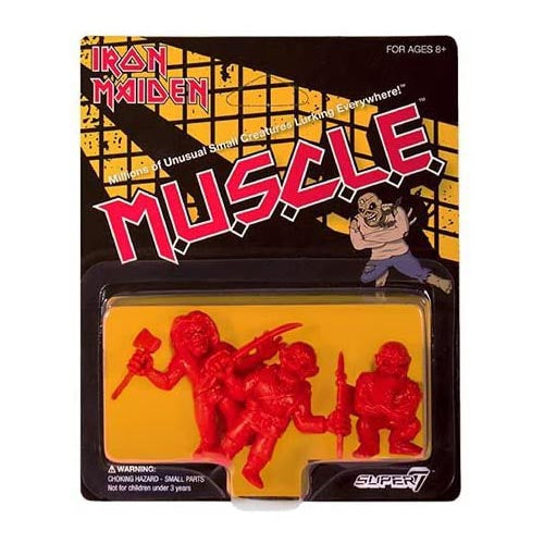 Iron Maiden - M.U.S.C.L.E. Three-Pack (red) figures