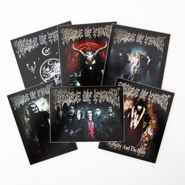 Cradle Of Filth - CoF sticker pack