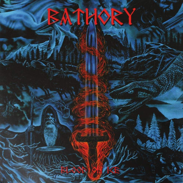 Bathory - Blood On Ice 2x12""