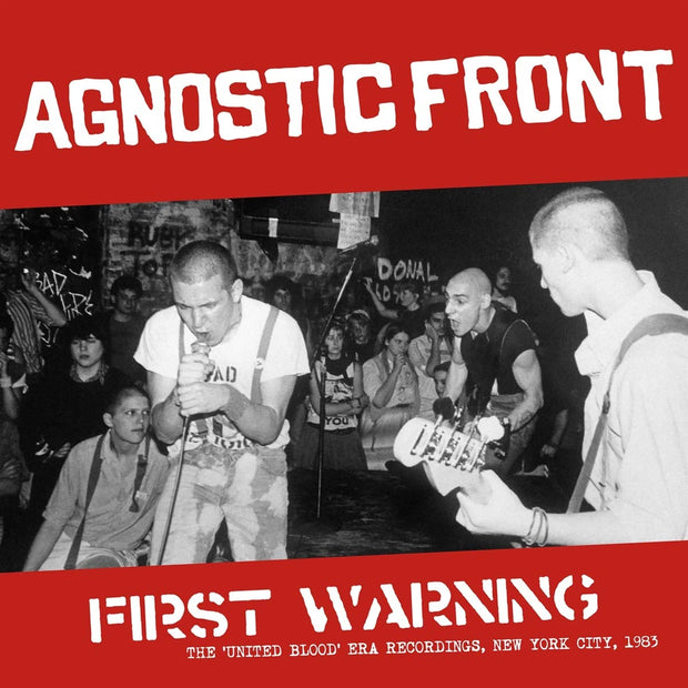 Agnostic Front - First Warning: The United Blood Era Recordings, New York City 1983 12""