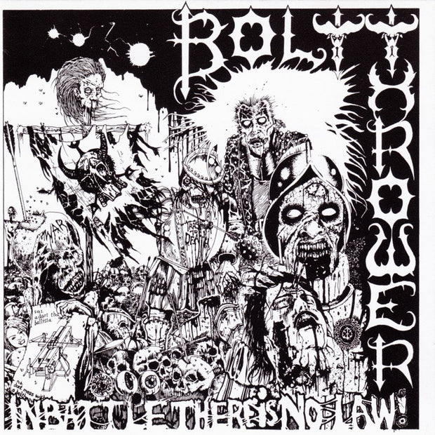 Bolt Thrower - In Battle There Is No Law! 12""
