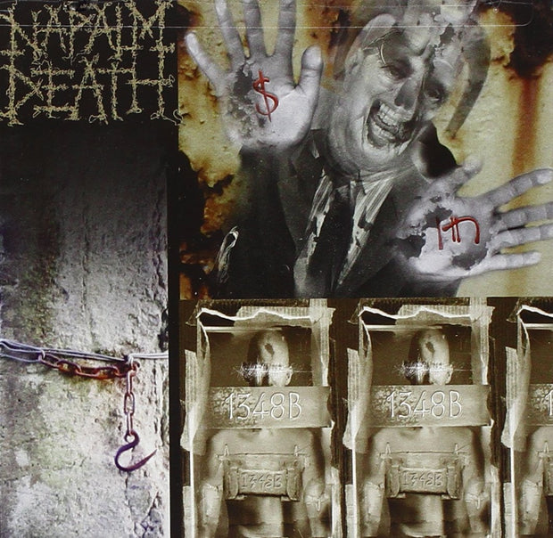 Napalm Death - Enemy Of The Music Business 12""