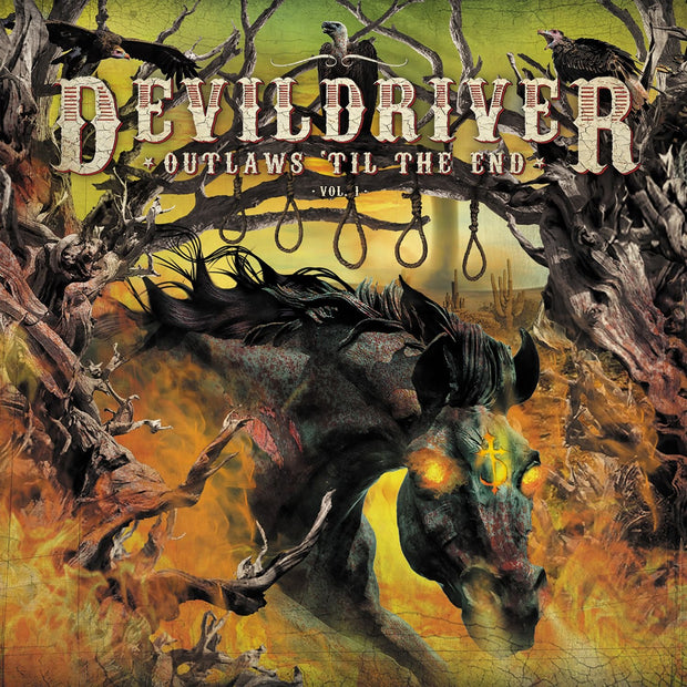 DevilDriver - Outlaws 'Til The End: Vol. 1 (signed) 12""