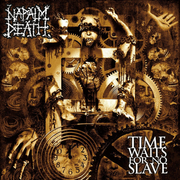 Napalm Death - Time Waits For No Slave 12""