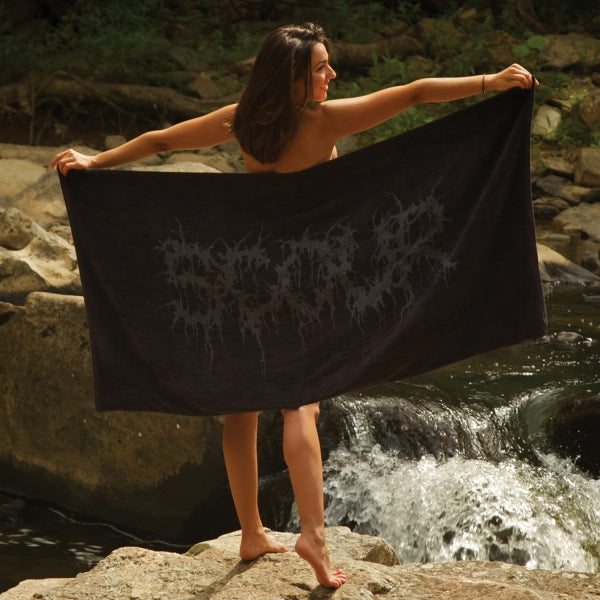 Scour - Logo beach towel