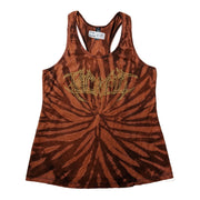 Dye Hard With A Vengeance x Psycroptic - Custom Tie Dye tank