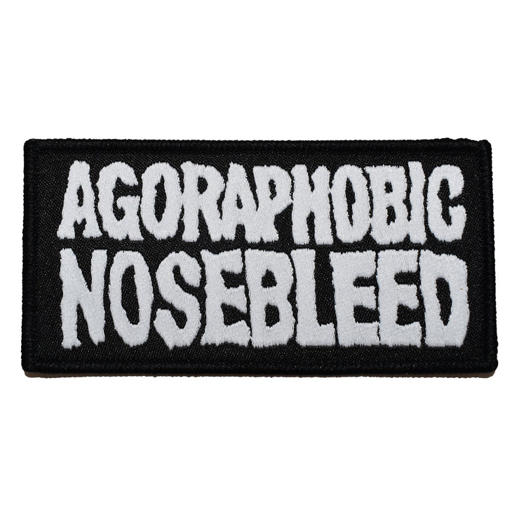 Agoraphobic Nosebleed - Logo patch