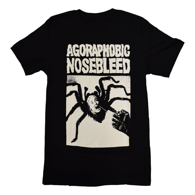 Agoraphobic Nosebleed - Spider Woman t-shirt