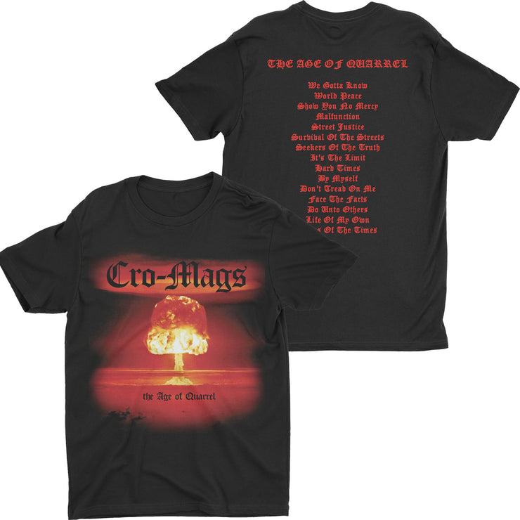 Cro-Mags - The Age Of Quarrel t-shirt
