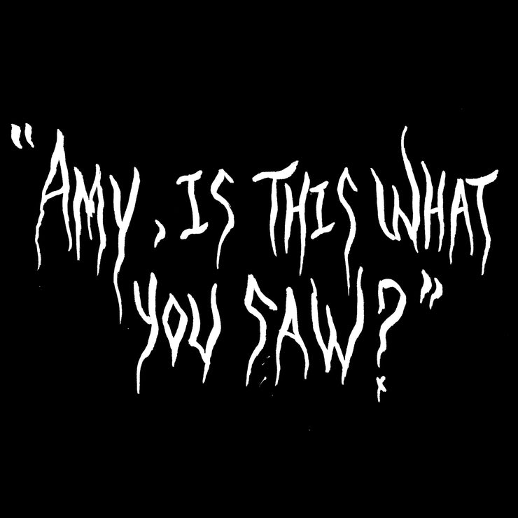 Sacrifixx - Amy, Is This What You Saw? t-shirt + download