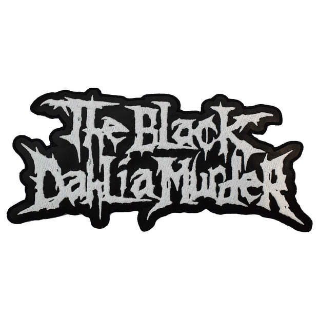 "The Black Dahlia Murder - 10"" Leather Logo patch"