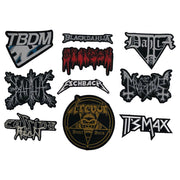 The Black Dahlia Murder - Parody Logo patch
